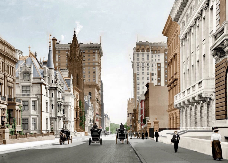 Virtual History Tour: Famous NYC Families with Kevin Draper