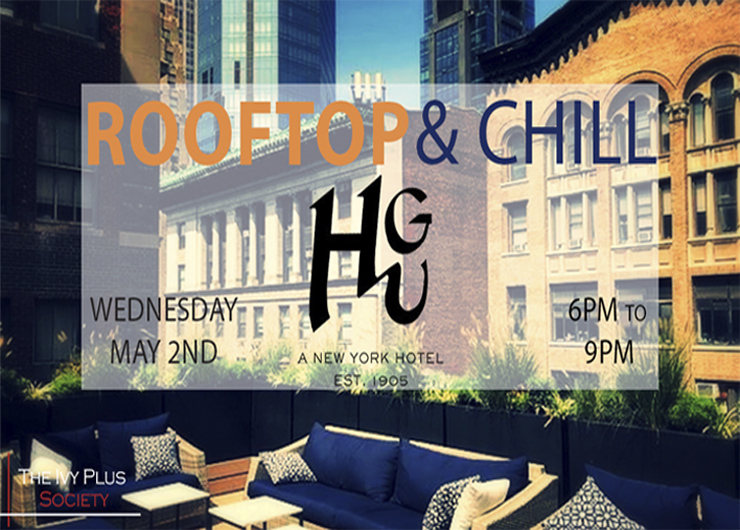 CUCNY Curated: Rooftop & Chill presented by Ivy Plus Society
