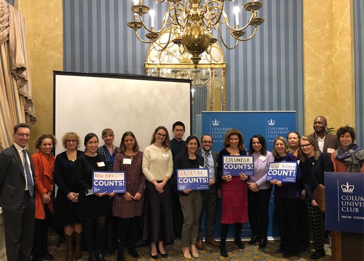 The Columbia University Club – Census 2020 Online Now