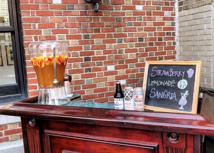 Penn Club Rooftop Happy Hours