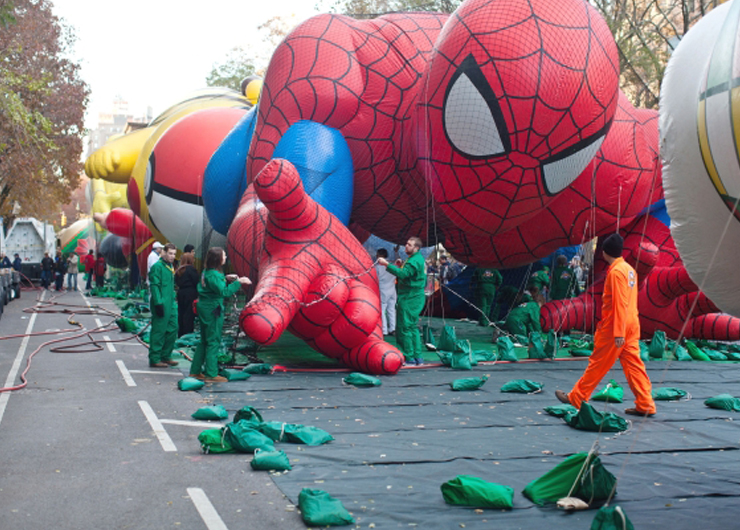 CUCNY Curated – Macy's Thanksgiving Parade Balloon Inflation